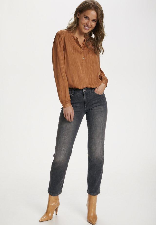 MOLLYSZ  - Jeans a sigaretta - dark grey denim