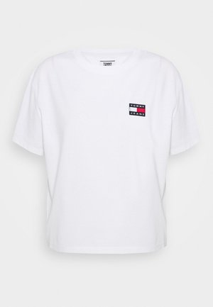 BADGE TEE - T-paita - white