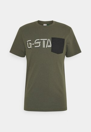 RIPSTOP GRAPHIC  - Camiseta estampada - olive