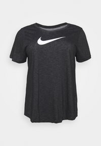 Nike Performance - DRY TEE PLUS - Print T-shirt - black - 0