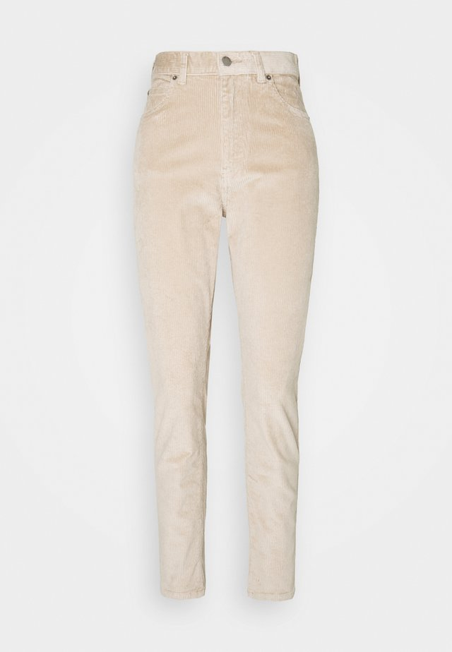 NORA - Trousers - beige