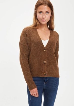 Chaqueta de punto - brown