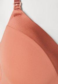 Lindex - NURSING BRA - T-shirt bra - dark dusty pink - 2