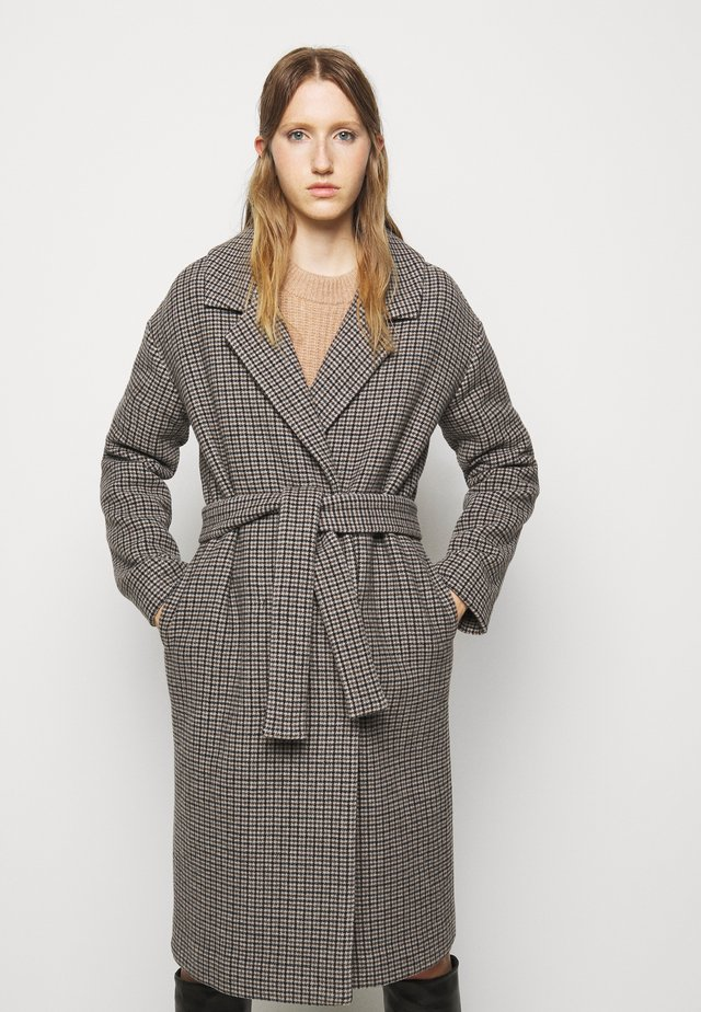 ISABELLE BELTED COAT - Zimní kabát - multi colour