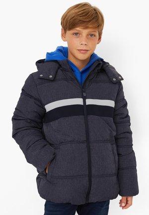 MIT STREIFEN-DETAIL - Winter jacket - navy