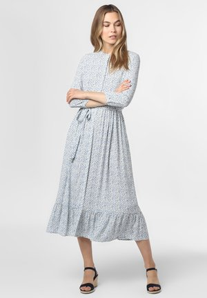 KLEID - Maxi dress - ecru blau