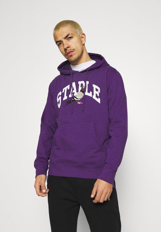 COLLEGIATE HOODIE UNISEX  - Hoodie - purple