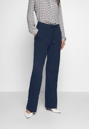 SOLID PANTS - Pantalones - navy
