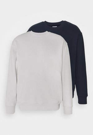 CREW 2 PACK UNISEX  - Sweatshirt - navy