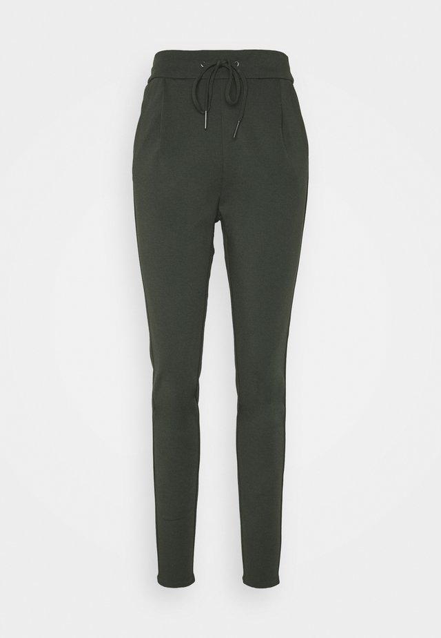VMEVA LOOSE STRING PANTS  - Kalhoty - peat