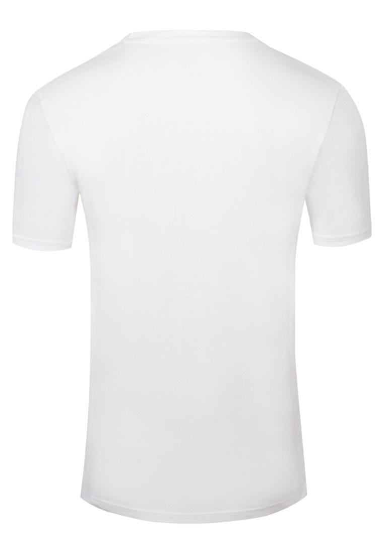 Cleptomanicx LIGULL - T-Shirt basic - white/weiß E8DIHU