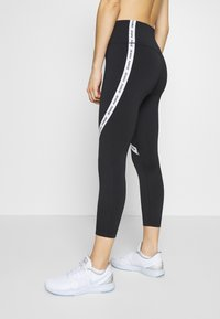 Nike Performance - ONE CROP - Collants - black/white - 3
