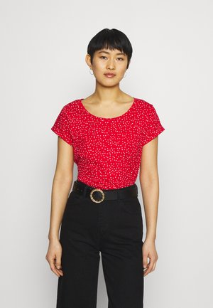 CORE - Print T-shirt - red