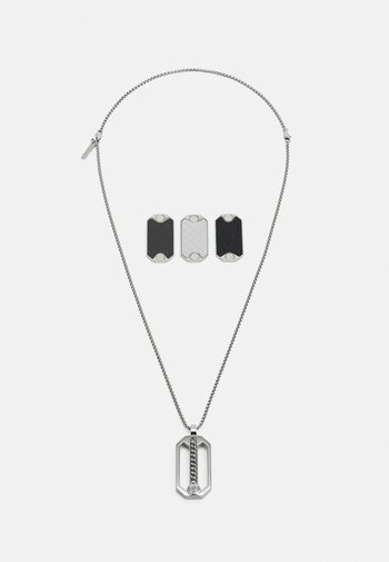 BESAR - Necklace - silver-coloured