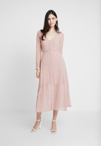 Hope & Ivy - Cocktail dress / Party dress - rose - 0
