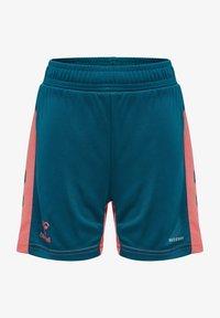 Hummel - ACTION  - Shorts - blue coral/tea rose - 0