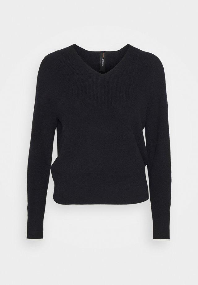 Sweter - midnight blue
