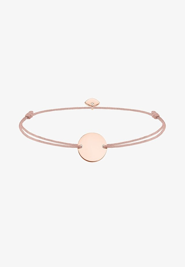 LITTLE SECRET COIN - Armband - rosegold-coloured/beige