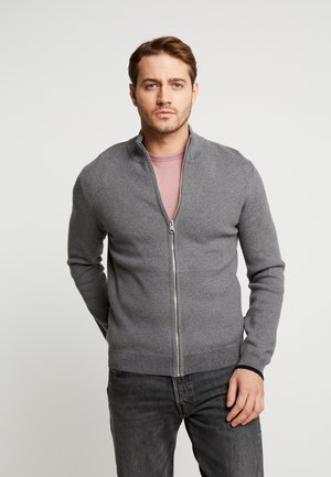 CARDO - Cardigan - medium grey melange