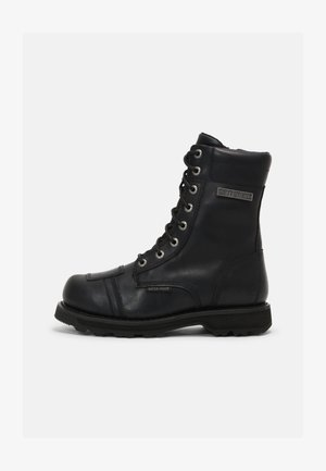 EDGERTON - Lace-up ankle boots - black
