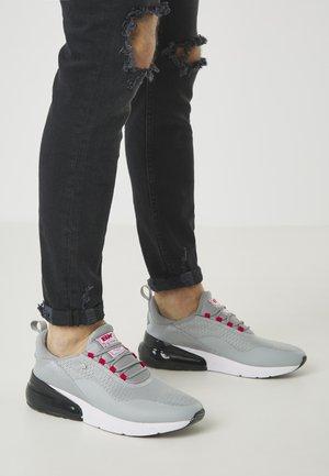 VALEN - Trainers - lt grey/red/black