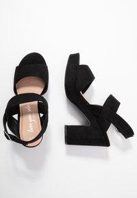 New Look - SELVEDERE - High heeled sandals - black - 3