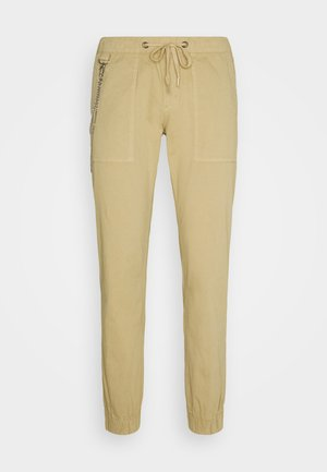 TOBY PANTS - Trousers - sand