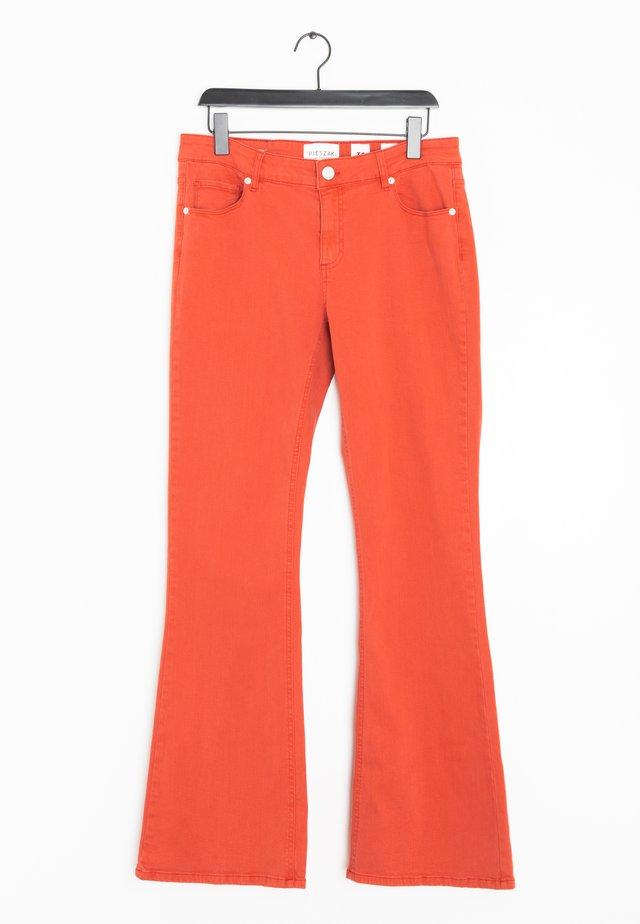 Flared Jeans - orange