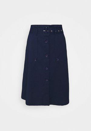 FANCY SKIRT - Áčková sukně - navy blue