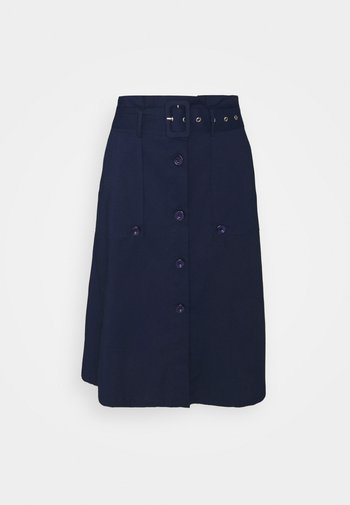 FANCY SKIRT - Gonna a campana - navy blue