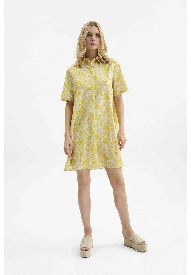 Shirt dress - savanna