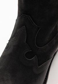 Felmini Wide Fit - GERBBERA - Cowboy/Biker boots - morgan black - 2
