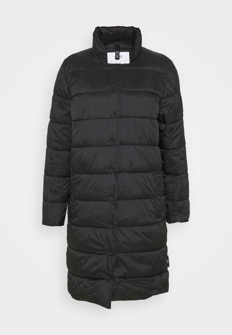 CLOSED - COSY PORI - Winter coat - black