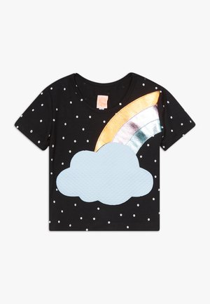COLOR - Print T-shirt - black