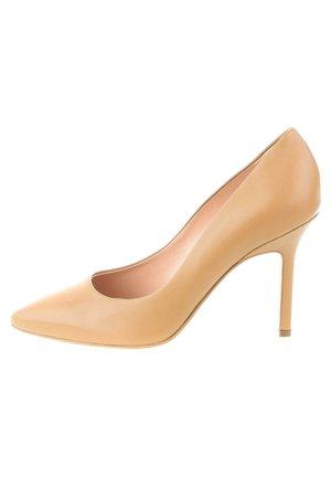 ALFINO - High heels - camelowy
