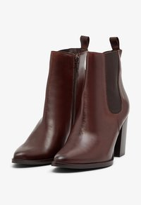 Bianco - High heeled ankle boots - darkbrown - 2