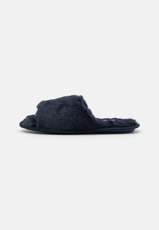 Tøfler - dark blue