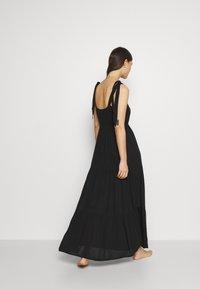 Marks & Spencer London - TIE TIERED DRESS - Accessoire de plage - black - 2