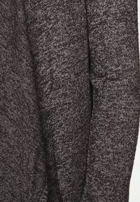 Vero Moda Petite - VMBRIANNA DRAPY - Cardigan - dark grey melange - 5