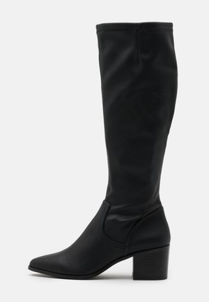 BIAABBIE LONG BOOT - Stivali alti - black