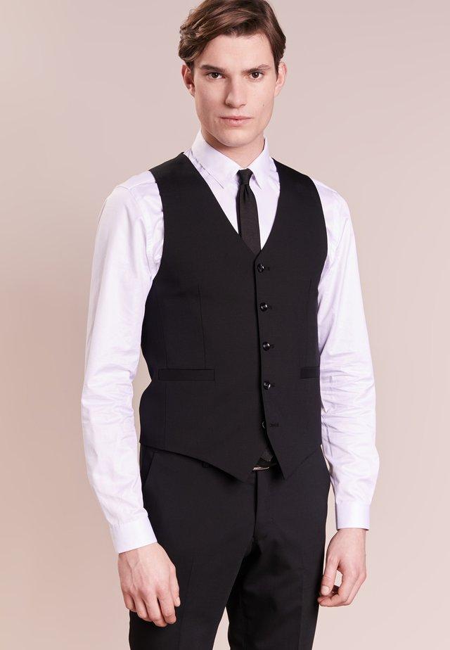 LITT - Vesta do obleku - black