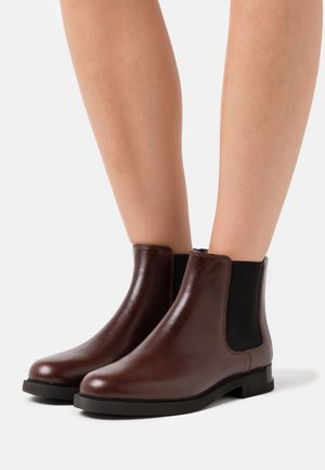 IMAN - Boots à talons - medium brown