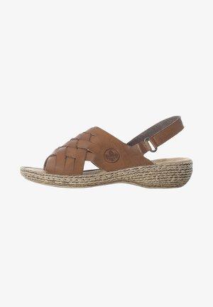 Sandals - cayenne