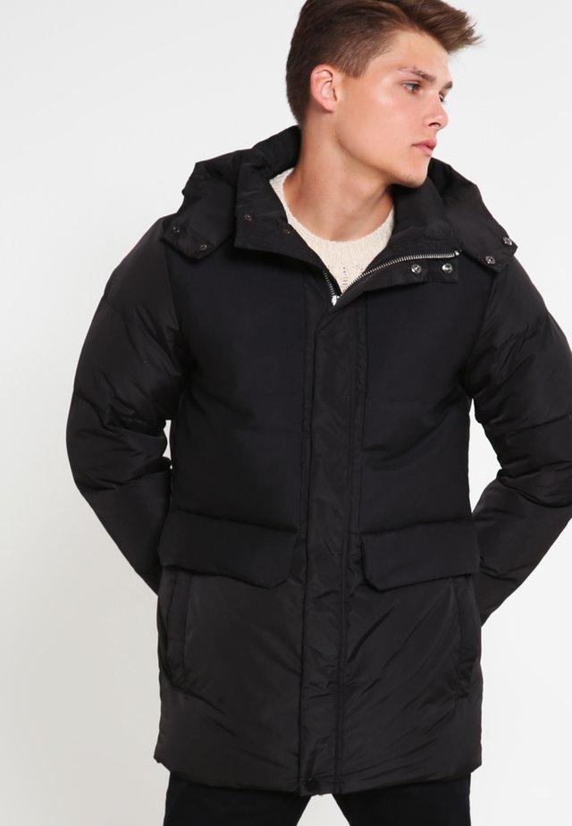 HEAVY BUBBLE  - Winter coat - black