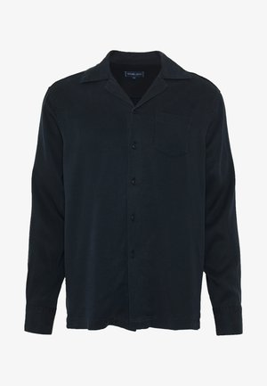 LONG SLEEVE CAMP - Shirt - navy