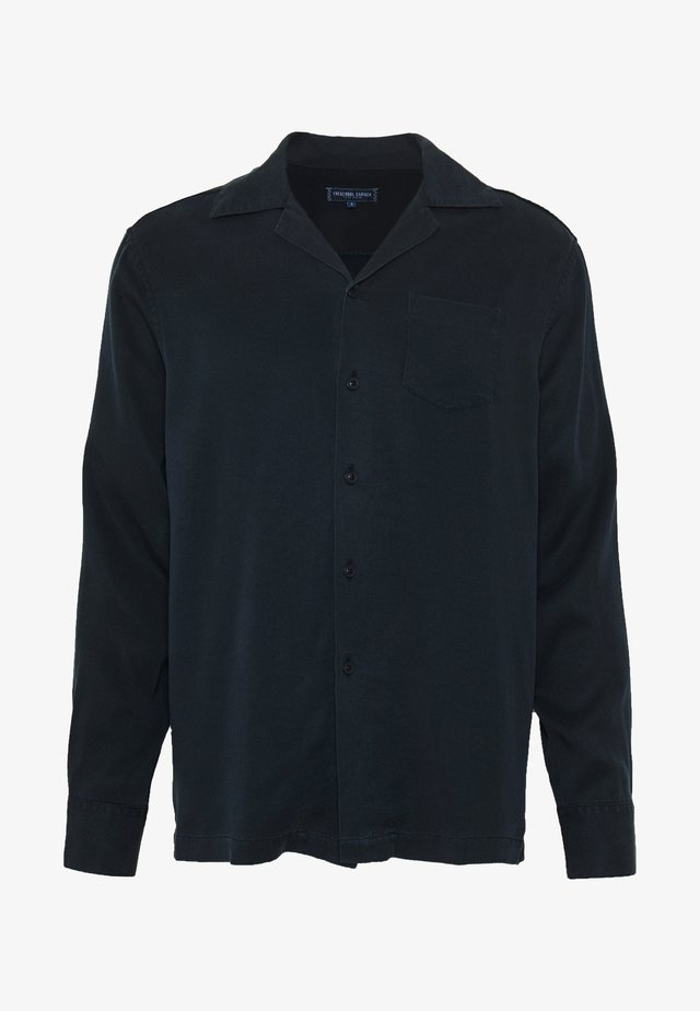 LONG SLEEVE CAMP - Chemise - navy