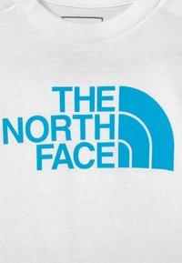 The North Face - INFANT SUMMER SET UNISEX - Print T-shirt - white/blue - 3