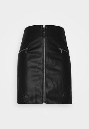 A-line skjørt - noir