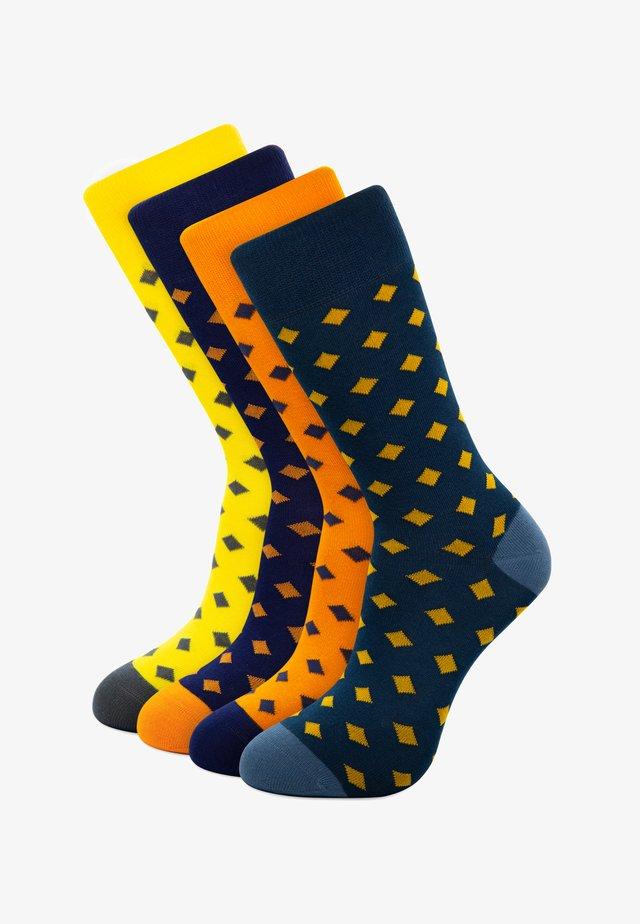 4-PACK GIFTBOX - Socks - blue
