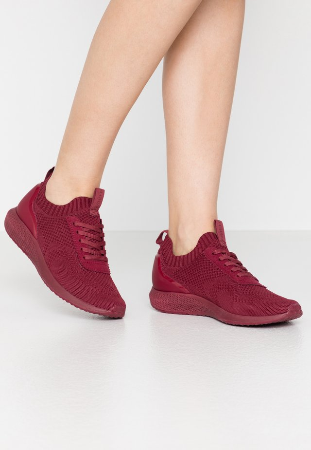 Sneakers basse - dark cherry